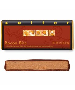 """Hand-scooped Chocolate: """"Bacon Bits"""""""