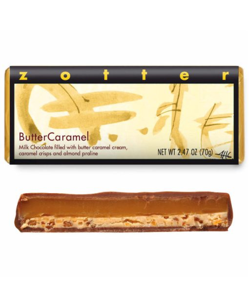 """Hand-scooped Chocolate: """"ButterCaramel"""""""