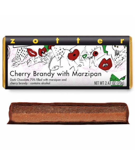Cherry Brandy with Marzipan