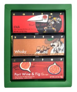 """Set  """"Boozy and Spicy"""" in green gift box"""