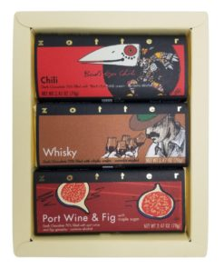 """Set  """"Boozy and Spicy"""" in cream-white gift box"""