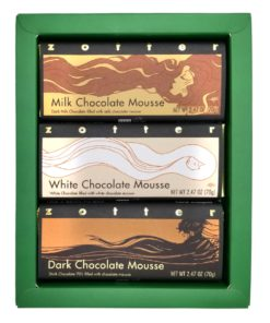 """Set  """"Mousse Variation"""" in green gift box"""
