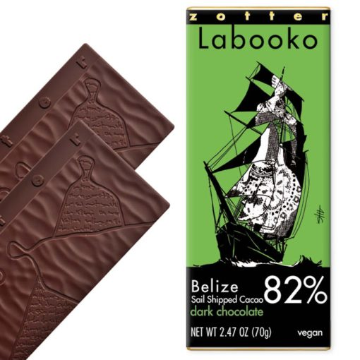 Belize Sail Shipped Cacao 82%