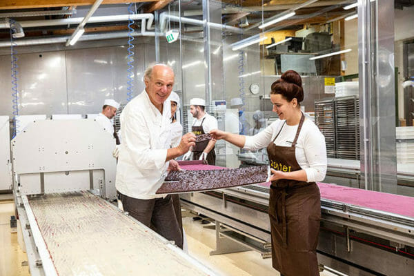 All the flavors are created by Julia and Josef Zotter