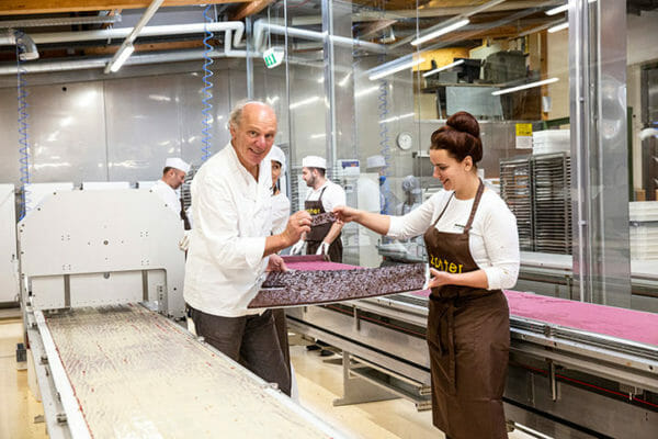 All the individual flavours are created by Julia and Josef Zotter